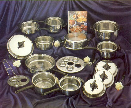 origional 23 pc. set of waterless cookware