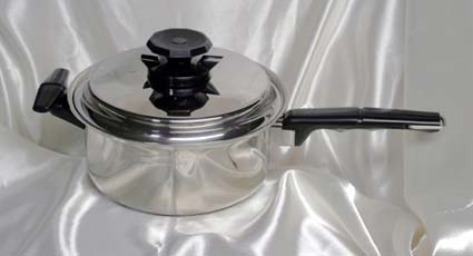 3 quart waterless cookware