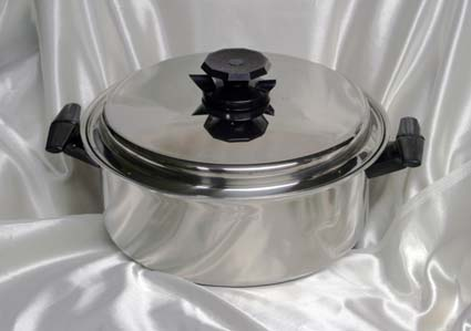 6 qrt. waterless cookware photo