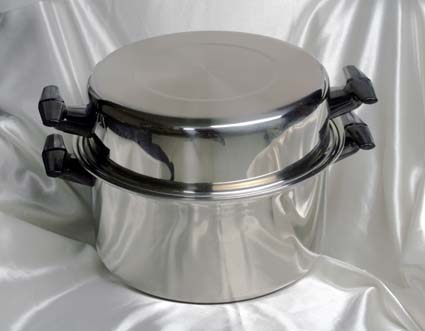 8 qrt. & dome waterless cookware