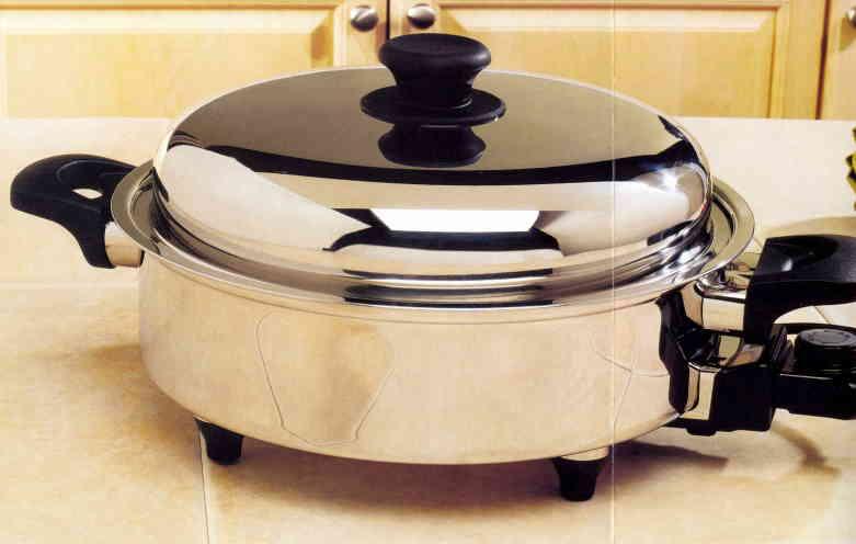 Electric Tamale Steamer Pot ~ Vacumatic waterless cookware