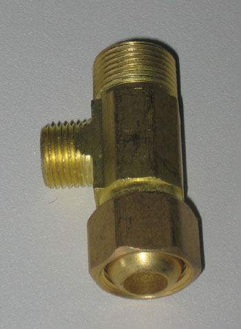 water filter T connector