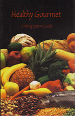 Healthy Gourmet  cookbook image