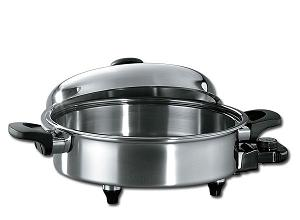 New Era oil core electric skillet